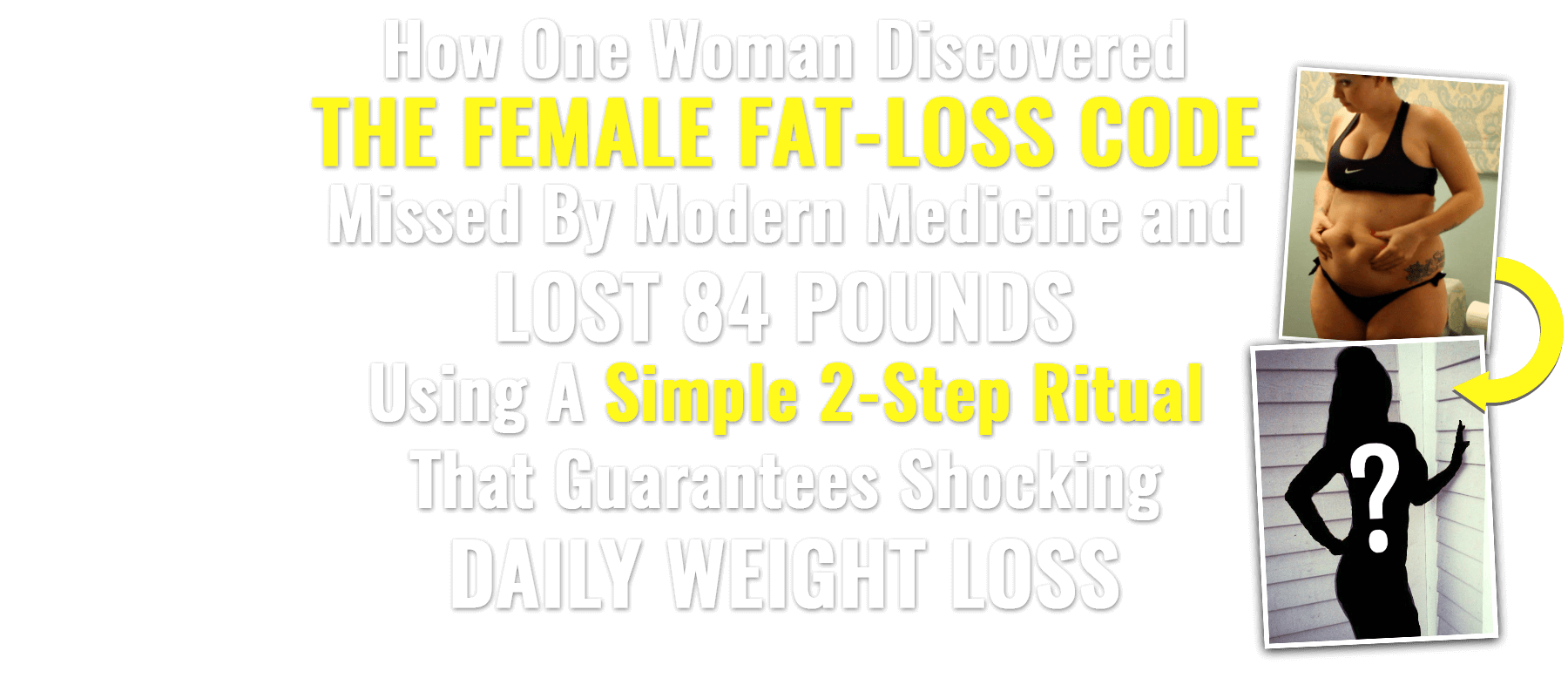 New Female Fat Loss Offer - Lose Weight Now